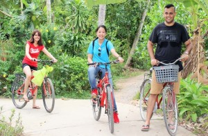 Cai Be Floating Market and Island Biking