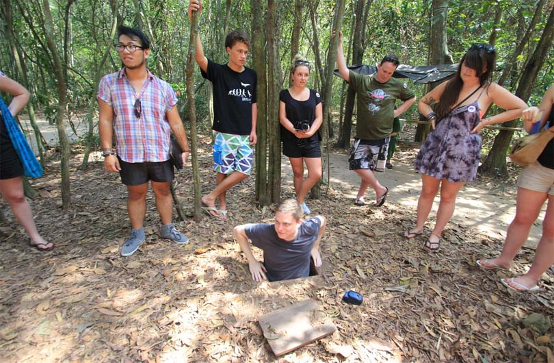 Cu Chi Tunnels Full Day Excursion