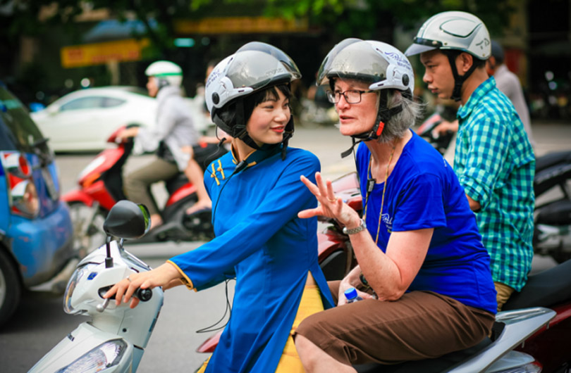Saigon Street Food Tour By Scooter