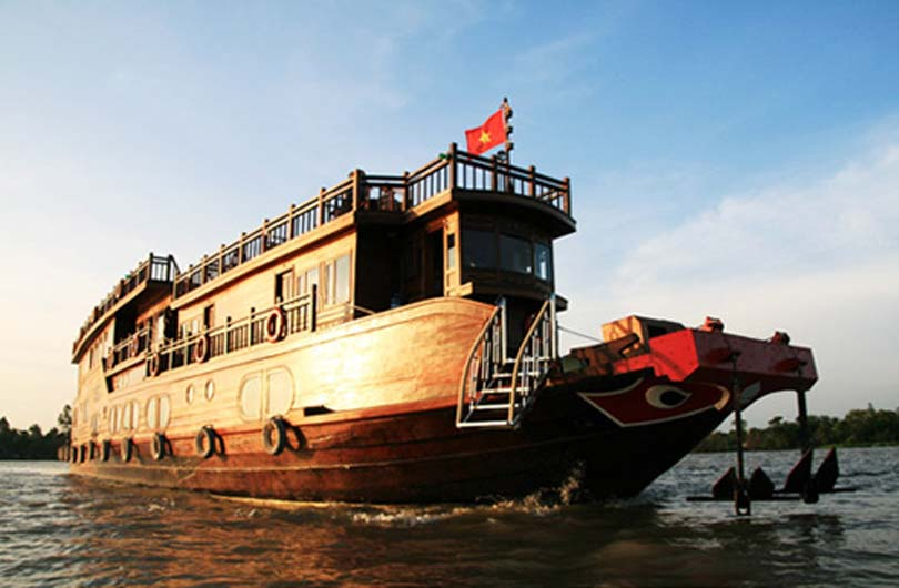 Overnight Cruise on the Mekong Delta