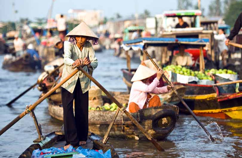 Mekong Delta to the Beach