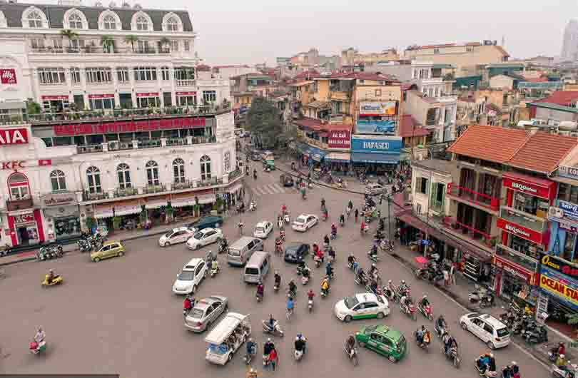 Exciting Hanoi By Scooter Half Day